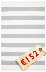 Alfombra Cotton stripe - Steel Blue CVD4910