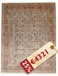 Kashmir pure silk carpet VXZZK223