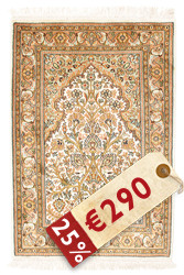 Kashmir pure silk carpet VXZZK77