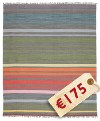 Rainbow - Grey Rainbow carpet CVD5801