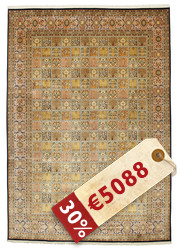 Kashmir pure silk carpet VEXG59