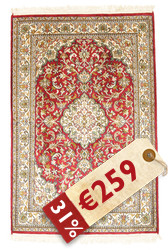Kashmir pure silk carpet VEXG402