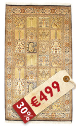 Kashmir pure silk carpet VEXG280