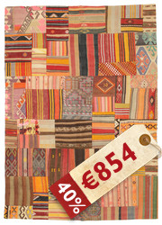 Kilim Patchwork carpet XCGN943