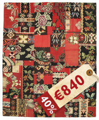 Kilim Patchwork carpet XCGT344
