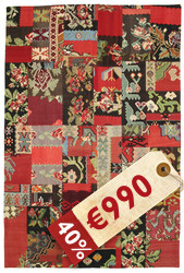 Kilim Patchwork carpet XCGT315