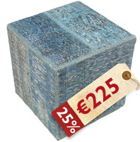 Patchwork stool ottoman χαλι BHKW19