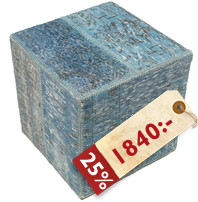 Patchwork stool ottoman teppe BHKW19