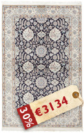 Nain 6La signed: Habibian carpet HDS236