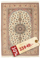 Isfahan silkerenning teppe AMT380
