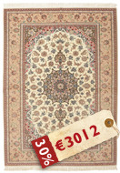 Isfahan silk warp carpet AMT380