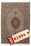 Tabriz 50 Raj with silk carpet APD295
