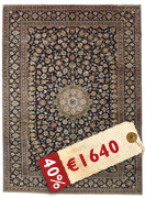 Keshan Patina signed: Rabani carpet PAT17