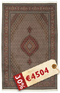 Tabriz 50 Raj with silk carpet APD265