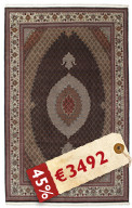 Tabriz 50 Raj with silk carpet APD271