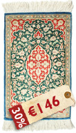 Qum silk carpet RZC133