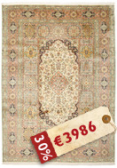 Kashmir pure silk carpet VAW8