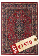 Mashad Patina signed: Mabodi carpet EXG153