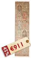 Kashmir pure silk carpet AMZJ124