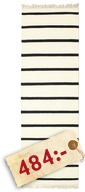 Dorri Stripe - White/Black matta MAY71