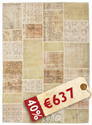 Patchwork carpet BHKD251