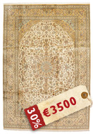 Kashmir pure silk carpet VAZZB124