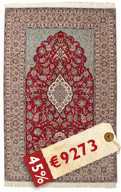 Isfahan silk warp carpet HE10