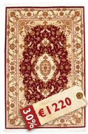 Tabriz 50 Raj with silk carpet VAZZU52