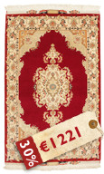 Tabriz 50 Raj with silk carpet VAZZV11