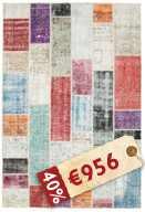 Patchwork Teppich BHKI34
