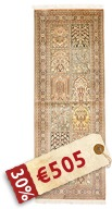 Kashmir pure silk carpet VAZZB131