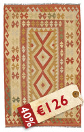Kilim Afghan Old style carpet NEWP54