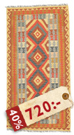 Kelim Afghan Old style matta NEWP34