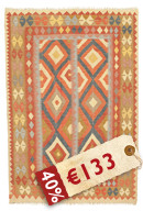Kilim Afghan Old style carpet NEWP55