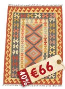 Kilim Afghan Old style carpet NEWP24