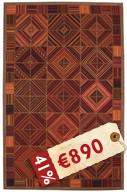 Kilim Patchwork carpet TBE71