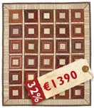 Kilim Patchwork carpet TBE12