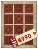 Kilim Patchwork carpet TBE24