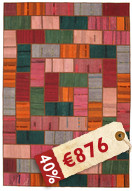 Kelim Patchwork-matto TBE72
