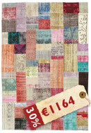 Patchwork-matto XCGD74
