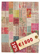Patchwork carpet XCGD142