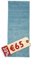 Handloom - Light Blue Teppich CVD3957