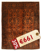 Oriental overdyed carpet SES26