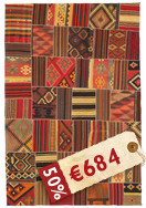 Kilim Patchwork carpet ABW58