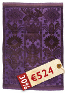 Oriental overdyed carpet SES34