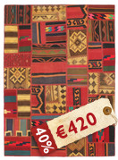 Kilim Patchwork carpet ABW121