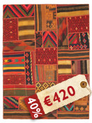 Tapis Kilim Patchwork ABW44