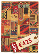 Tappeto Kilim Patchwork ABW48