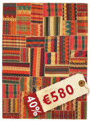 Kilim Patchwork carpet ABW270