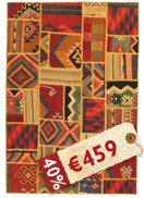 Kilim Patchwork carpet ABW198